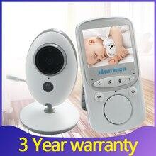 Baby Monitor Wireless Video Nanny Baby Camera intercom Night Vision Temperature Monitoring Cam babysitter nanny baby phone vb605(China)