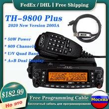Tyt TH-9800 estação de rádio móvel transceptor veículo amador rádio quad band 29/50/144/430mhz repetidor de banda cruzada 50w
