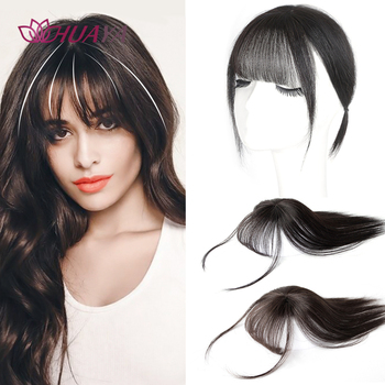 Хуая Клип В парик с челкой синтетические искусственные взрыва накладные волосы натуральный прямая челка застежка заколки для волос, накладные волосы на заколке для Для женщин|Челки из синтетики|   | АлиЭкспресс