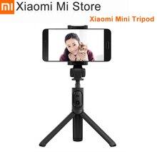 Original Xiaomi Mini Tripod With Bluetooth shutter Button Extendable Self timer Monopod For Moilble phone or camera
