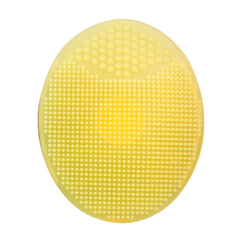 1 Pcs Soft Silicone Facial Cleaning Brush  Shower Baby Massage Wash Pad Face Exfoliating Brushes Super Soft Sponges Scrubbers