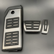 Per Audi Q7 Q8 Per Porsche Cayenne Carburante Freno Resto Del Piede pedali Piastra Acceleratore pedale del freno adesivi accessori per Auto Car styling