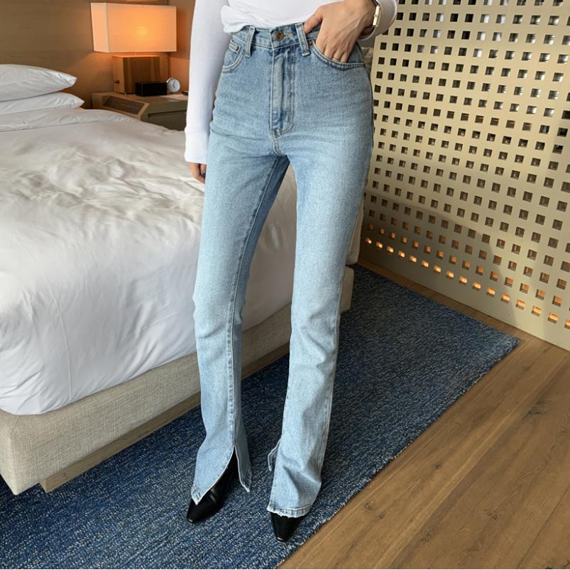 Women Long Jeans 2019 Autumn New Korean Fashion Streetwear Pants Street Female Long Denim Loose Mop Jeans