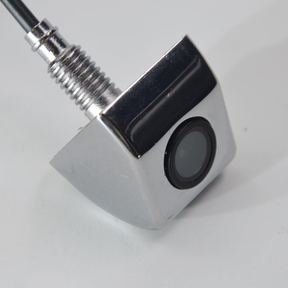 Заводская, CCD HD камера заднего вида, водонепроницаемая камера ночного видения с углом обзора 170 градусов, роскошная Автомобильная камера заднего вида, камера заднего вида - Название цвета: Серебристый