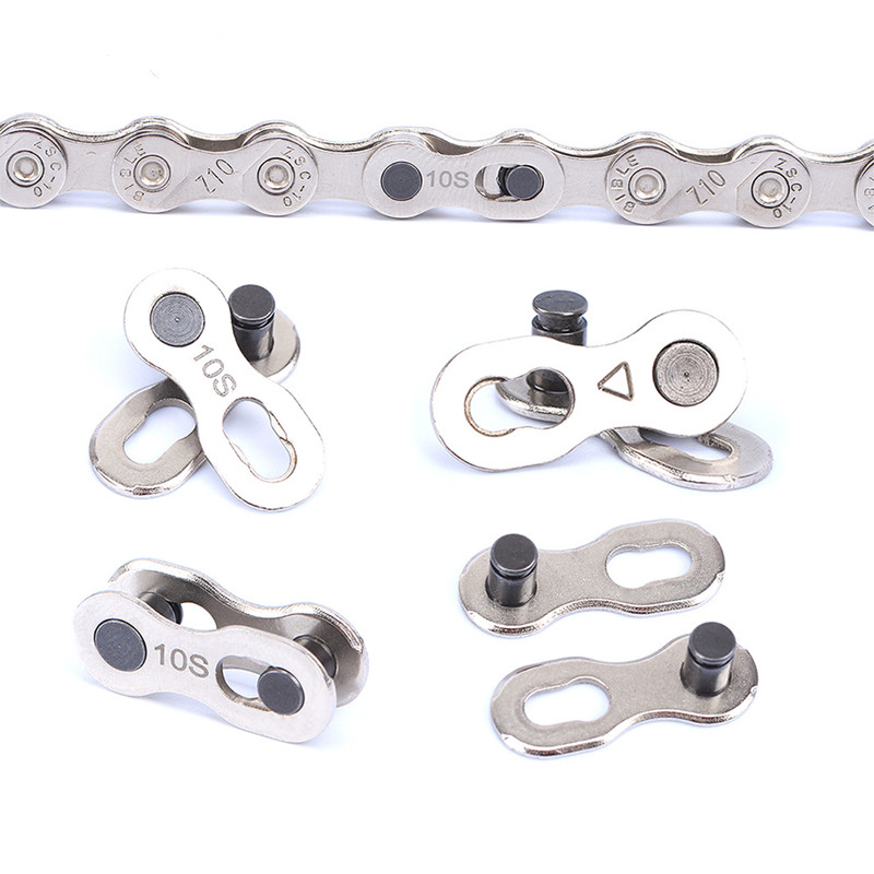 Mini Bike Chain Quick Link Tool MTB Road Bicycle Power Chain Quick Release Buckle for 6 7 8 9 10 11 12 Speed Bike Accessories