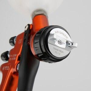 Image 5 - Pistora pulveirizadora high end 1.3mm, revestimento transparente, verniz, pintura por ar, ajuste 30cm, largura padrão