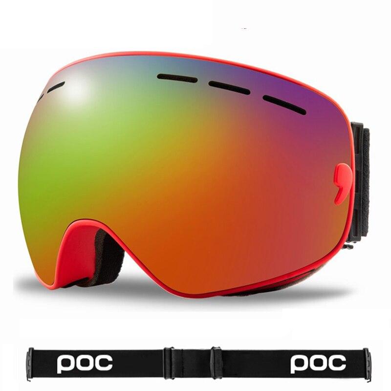 Gafas POC antiniebla DE DOBLE CAPA para hombre y mujer, anteojos de sol unisex para ciclismo de montaña