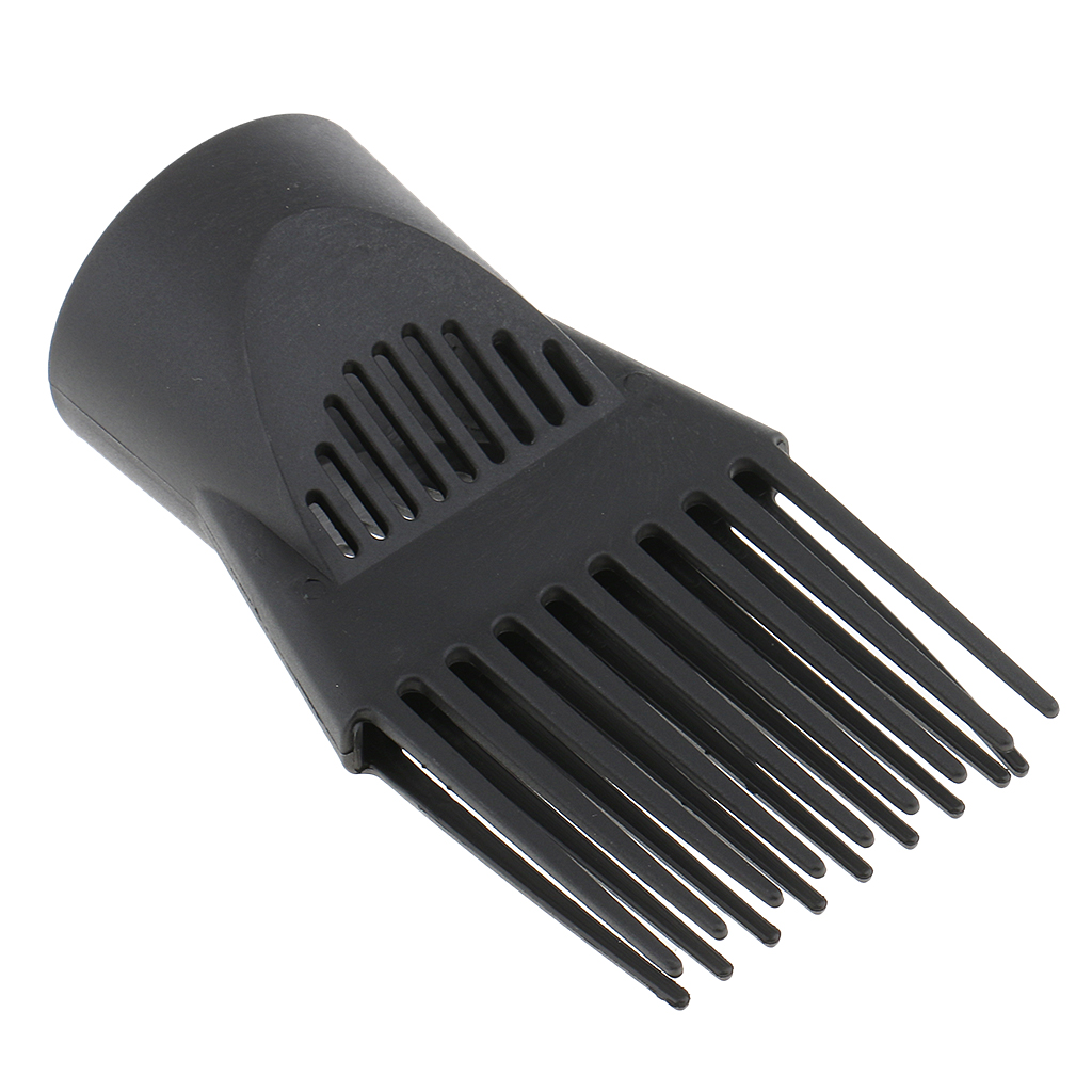 Universal Hairdresser Salon Hair Dryer Diffuser Wind Blow Cover Comb Attachment Nozzle For Straight Hair