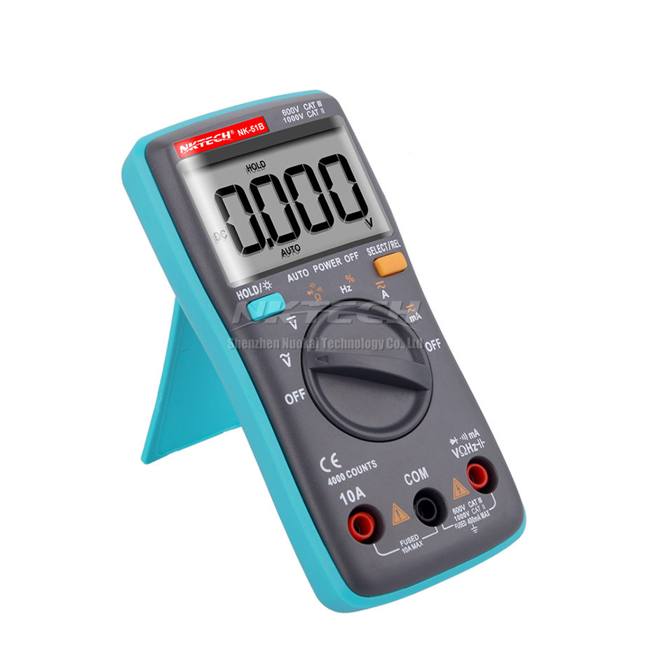 Multimetro digitale NKTECH MINI LCD Pocket NK-51A NK-51B NK-51C - Strumenti di misura - Fotografia 3