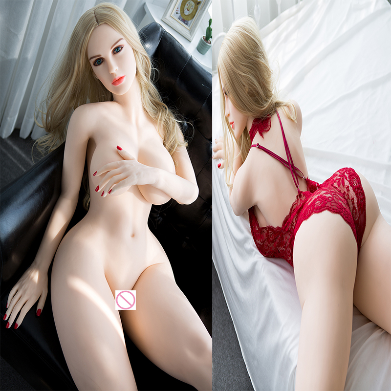 168cm Real Silicone <font><b>Sex</b></font> <font><b>Doll</b></font> <font><b>Fat</b></font> <font><b>Ass</b></font> Soft Butt Big Breast Real <font><b>Dolls</b></font> Lifelike Vagina Pussy Anal Adult Toy For Men image