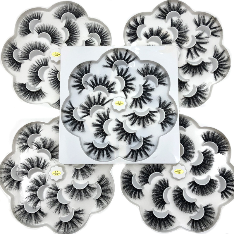 Mikiwi 25mm 5D Mink Eyelashes 100% Cruelty Free Lashes Handmade Reusable Natural Eyelashes Popular False Lashes Makeup