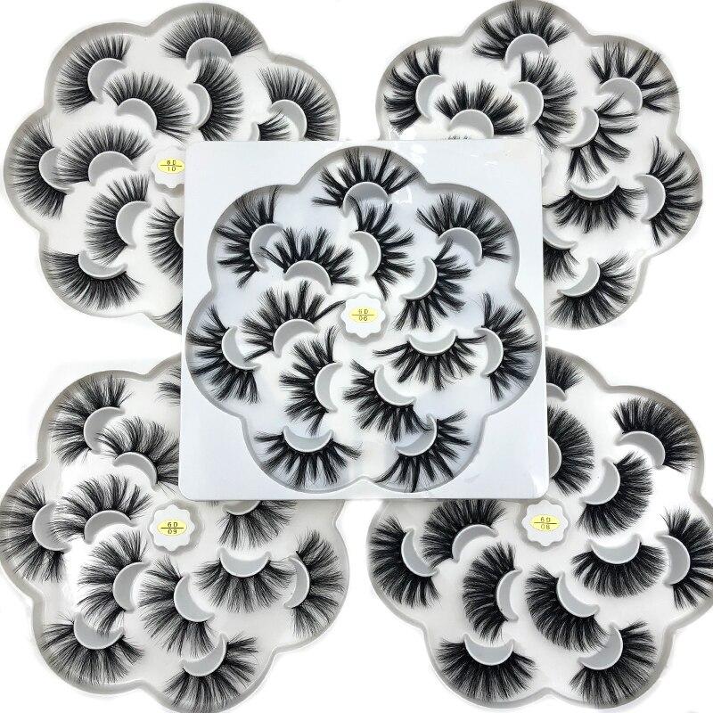 Mikiwi 25mm 5D Mink Eyelashes 100% Cruelty Free Lashes Handmade Reusable Natural Eyelashes Popular False Lashes Makeup
