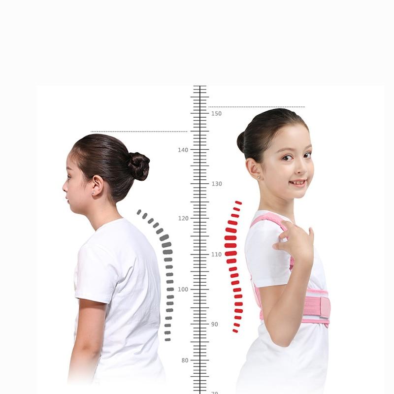 Adjustable Children Posture Corrector Belt with Detachable Shoulder Pad to Develop Good Walking and Sitting Posture 8