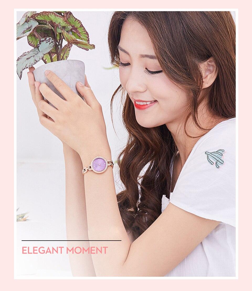 2018 luxo diamante quartzo relógios senhoras vestido