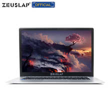 ZEUSLAP 15,6 pulgadas Intel Quad Core CPU 4GB Ram 64GB EMMC sistema Windows 10 1920*1080P FHD pantalla Netbook ordenador portátil(China)