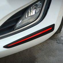 1คู่TPE + PPรถกันชนป้องกันCoverป้องกันรอยขีดข่วนยางสติกเกอร์อุปกรณ์เสริมทำความสะอาดง่าย