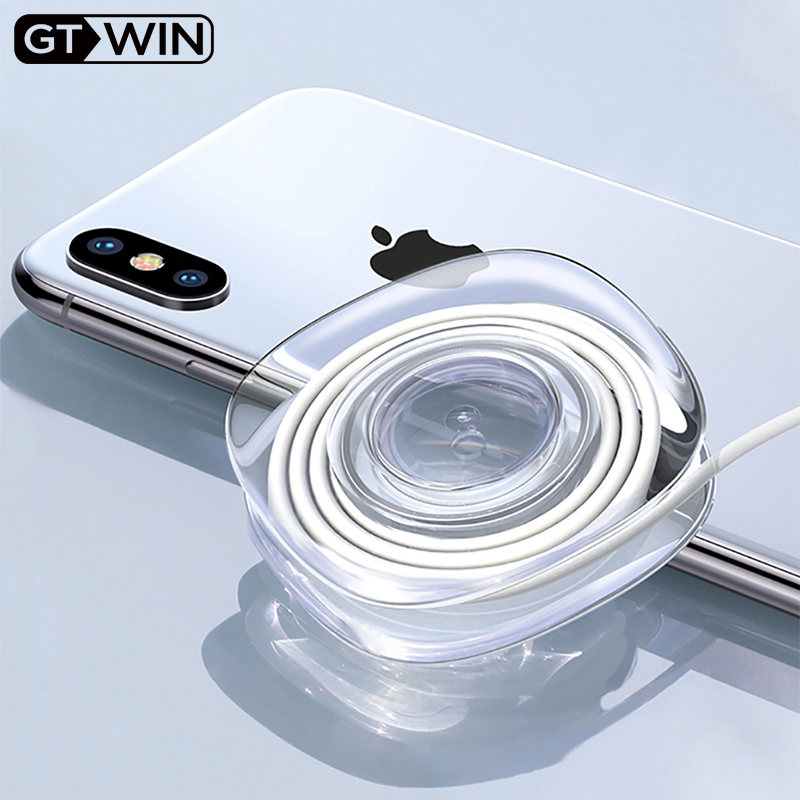 GTWIN Universal Phone Holder For Wall Car Mobile Phone Stand Strong Adsorption Gel Pad Desk Sticker Paste Tablet Holder Stand