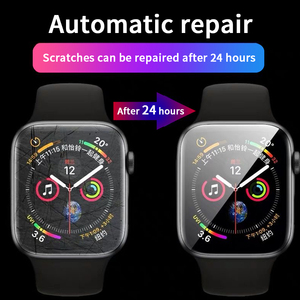 Image 2 - Screen Protector Clear Full Coverage Protective Film for Apple Watch 5 4 3 2 1 Protective Film For Iwatch 40MM 44MM 38MM 42M