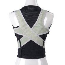 Correcteur de Posture magnétique ajustable pour homme et femme, Corset, attelle dorsale, ceinture de soutien lombaire, droit, S-XXL