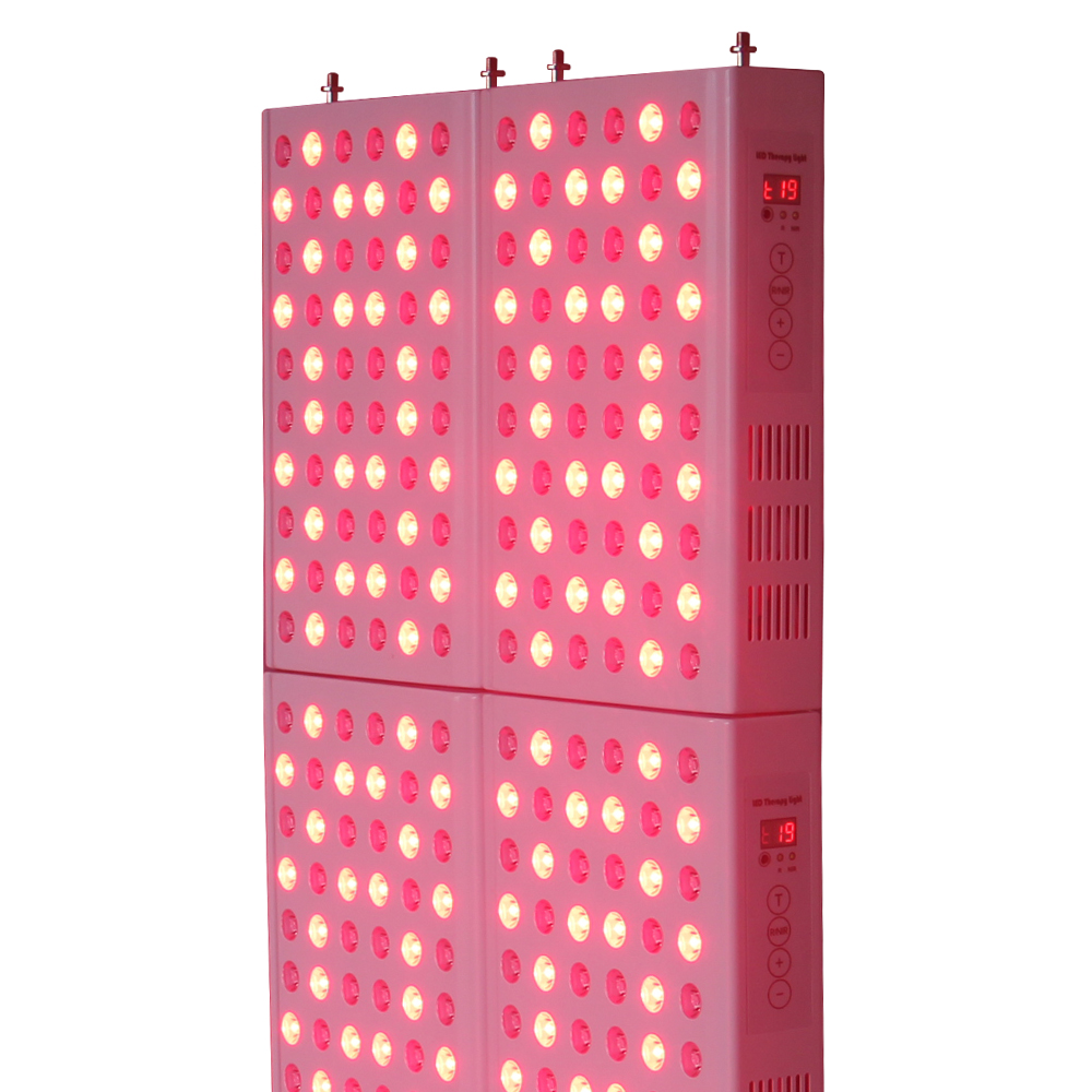 Professional LED Red Light 850nm 660nm TL300 Infrared Therapy Panel, Timer Face Therapy For Skin