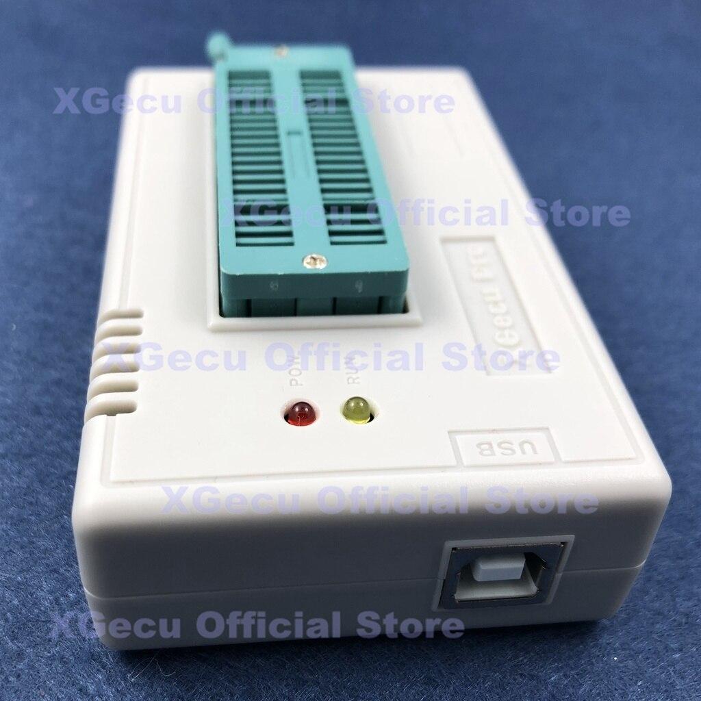 V10.13 XGecu TL866II Plus USB Universal Programmer support 15000+IC SPI Flash NAND EEPROM MCU PIC AVR replace TL866A TL866CS