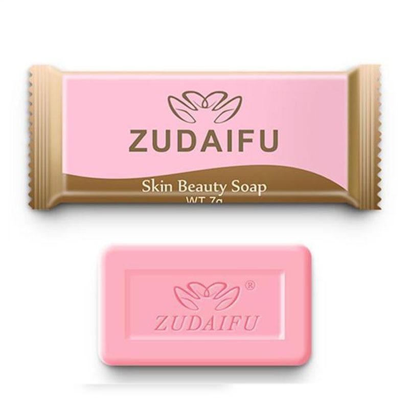 Mini 3pcs Zudaifu Sulfur Soap Skin Conditions Acne Psoriasis Seborrhea Eczema Anti Fungus Bath Whitening Soap Shampoo Soap 7g/pc