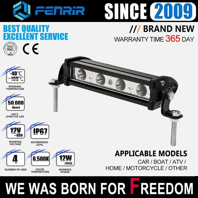 car accessories led light bar offroad 4x4 headlights work fog light motorcycle for VW passat b6 royal enfield vespa lada niva