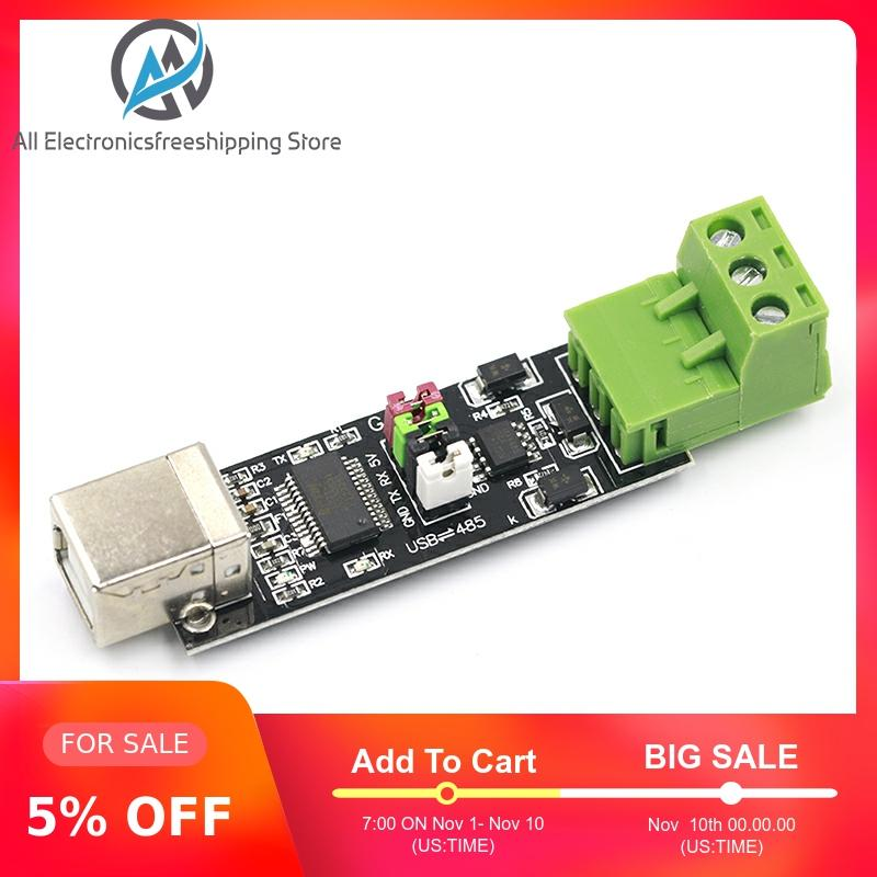USB 2.0 To TTL RS485 Serial Converter Adapter FTDI Module FT232RL SN75176 Double Function Double For Protection Top Sale