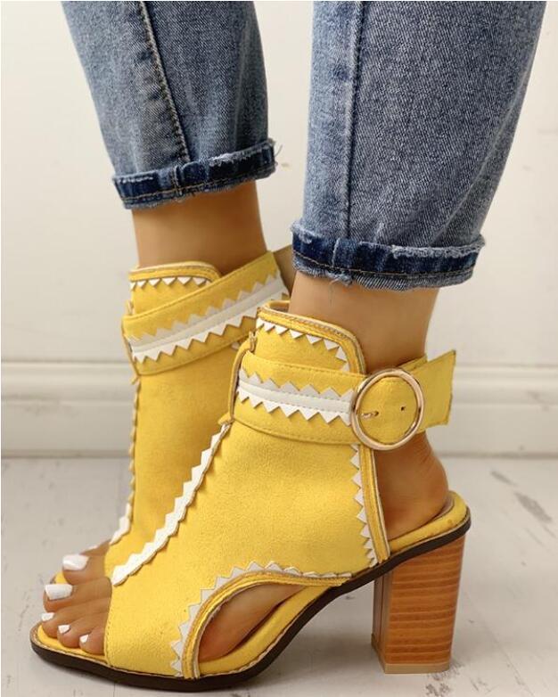 New Women Sandals Platform Sandals Wedges Shoes Women Heels Sandalias Mujer 2020 Summer Shoes Leather Sandals Zapatos De Mujer