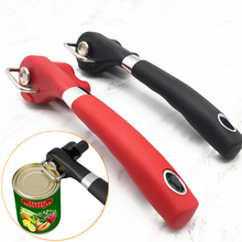 High-quality Safety Easy Stainless Steel Manual Can Opener Professional Effortless Openers with Turn Knob Kitchen Useful Tools yooap cans opener household kitchen tools professional manual stainless steel openers with turn knob