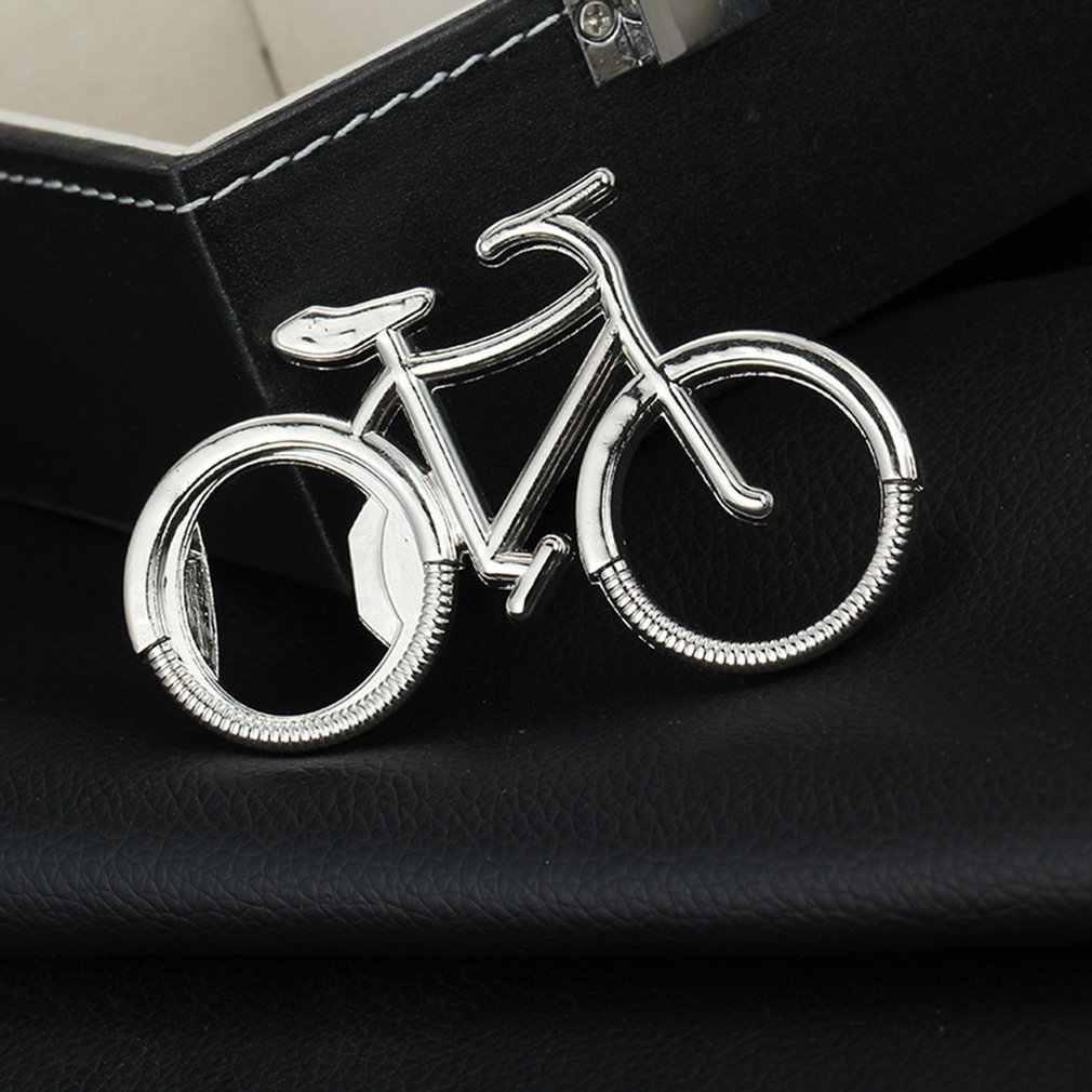 1PC น่ารักแฟชั่นจักรยานจักรยานโลหะที่เปิดขวดเบียร์พวงกุญแจแหวนสำหรับจักรยาน Lover BIKER ของขวัญสร้างสรรค์สำหรับขี่จักรยาน