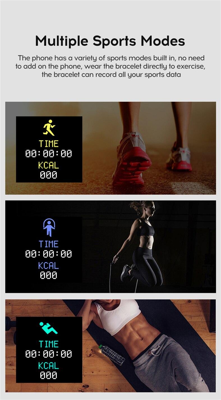 D20 PRO Bluetooth Smart Watches Waterproof Sport Fitness Tracker Smart Bracelet Smartwatch 23