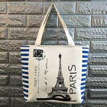 5pk женская сумка для покупок вместительная Холщовая Сумка тоут