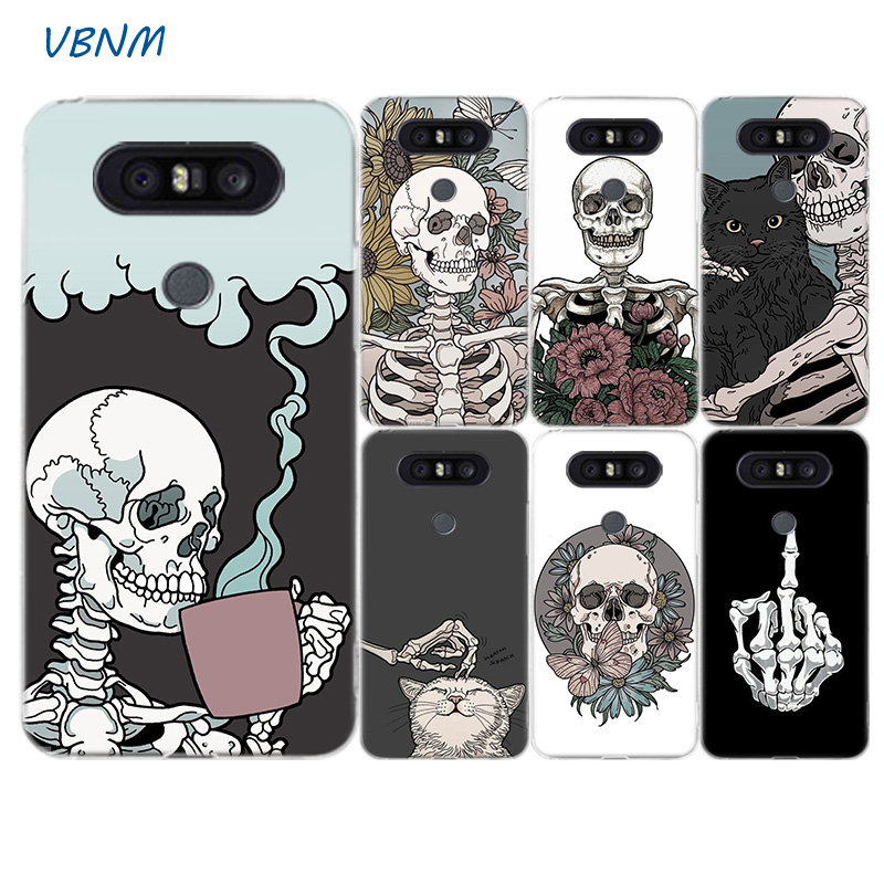 Cool Skull Fashion Riverdale Soft Silicon Phone Back Case For LG G7 G6 G5 G4 V40 V30 V20 V10 Q7 Q8 Q6 K8 K10 2018 2017 Cover