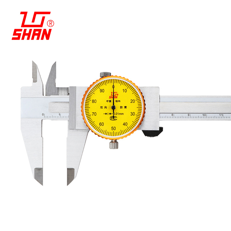 0-150 0-200 0-300mm sattel 0,01 zifferblatt messschieber Zifferblatt bremssättel Hohe präzision edelstahl stahl vernier mit tisch sattel