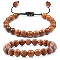 Горячая Распродажа, мужские натуральные мерцающие буддийские кресты, 7 чакр, браслеты из бисера, Женские Ювелирные изделия для йоги