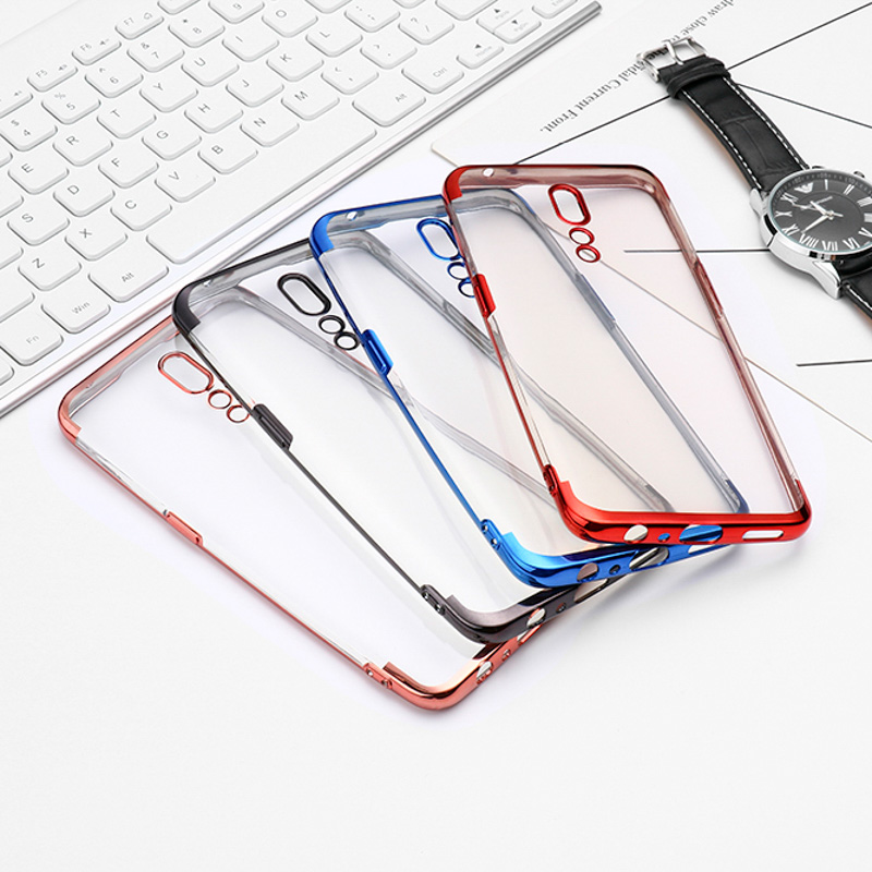 For <font><b>OPPO</b></font> Reno Z <font><b>Case</b></font> Plating Soft Fundas For <font><b>OPPO</b></font> Reno 2 10X Realme 5 3 <font><b>Pro</b></font> X lite R9 R9S <font><b>R11</b></font> R11S Plus R17 Find X A9 2020 Cover image