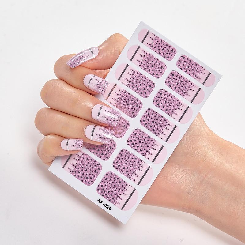 Купить наклейки для дизайна ногтей 2020 искусственных временные татуировки