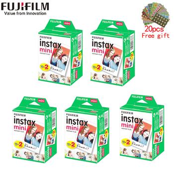 10-200 arkusze Fujifilm instax mini 11 9 film biała krawędź 3 Cal szerokości filmu dla aparat natychmiastowy mini 8 7s 25 50s 90 papier fotograficzny tanie i dobre opinie Jednorazowy aparat fotograficzny Natychmiastowa Kamery JP (pochodzenie) Film Zestawy