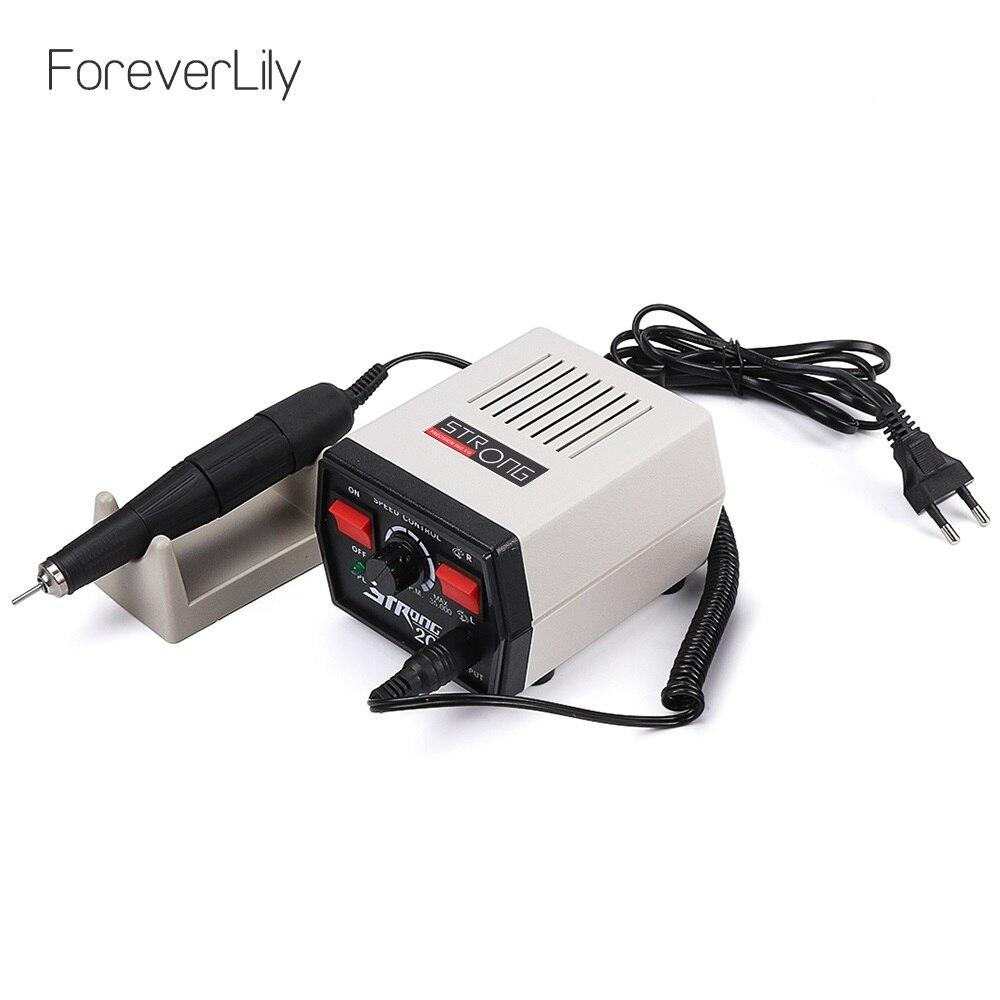Электрическая машинка для маникюра и педикюра, 65 Вт, 35000 об/мин, Strong 204 102L-2.35, инструменты для маникюра и педикюра, оборудование для дизайна но...