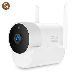 Image 1 - Youpin Xiaovv açık panoramik kamera gözetim kamera kablosuz WIFI yüksek çözünürlüklü gece görüş ile çalışmak akıllı ev APP