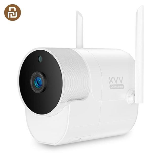 Youpin Xiaovv açık panoramik kamera gözetim kamera kablosuz WIFI yüksek çözünürlüklü gece görüş ile çalışmak akıllı ev APP