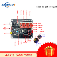 3 Axis CNC Controller Double Y Axis USB Driver Board Controller Laser Board GRBL Control For 3018 1610 2418 Engraving Machine