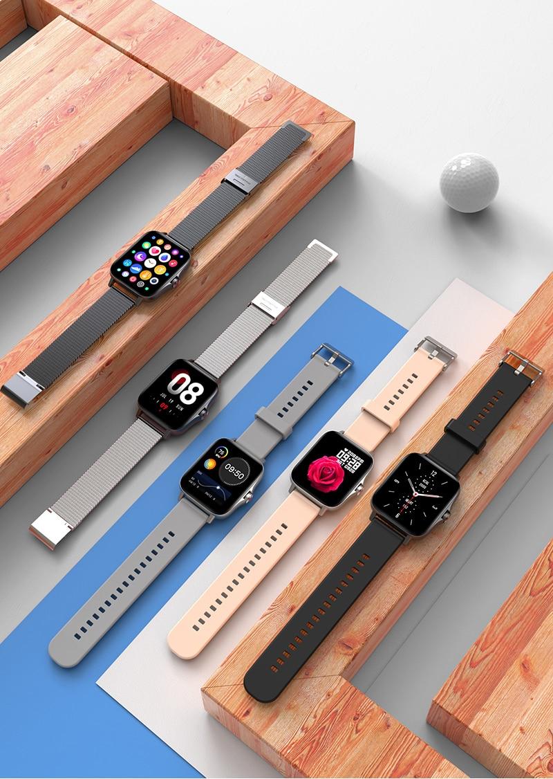 Hbfdbe49abfdc44b3b1bddb4dec0f8e52R For Xiaomi Apple Phone IOS Reloj Inteligente Hombre Smartwatch 2021 Men Bluetooth Call Smart Watch Man Woman Full Touch IP68