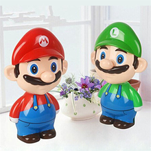 Super Mario Cute Cartoon LED Rechargeable Table Light Night Lights Bedside Lamp for Children Kid Novelty Lighting Birthday Gifts cheap Atmosphere Lithium Metal LED Bulbs Switch 90-260V Rechargeable Battery Emergency 0-5W