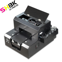 UV 프린터 a4 UV 평판 프린터 (RIP software9.0). 펜 전화 커버 전화 케이스 유리 금속 가죽 pvc 3D 엠 보스 인쇄
