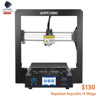 ANYCUBIC I3 Mega 3D Printer Large Plus Size Full Metal Impresora 3D Second Hand 3d Printer High Precision Impressora 3d