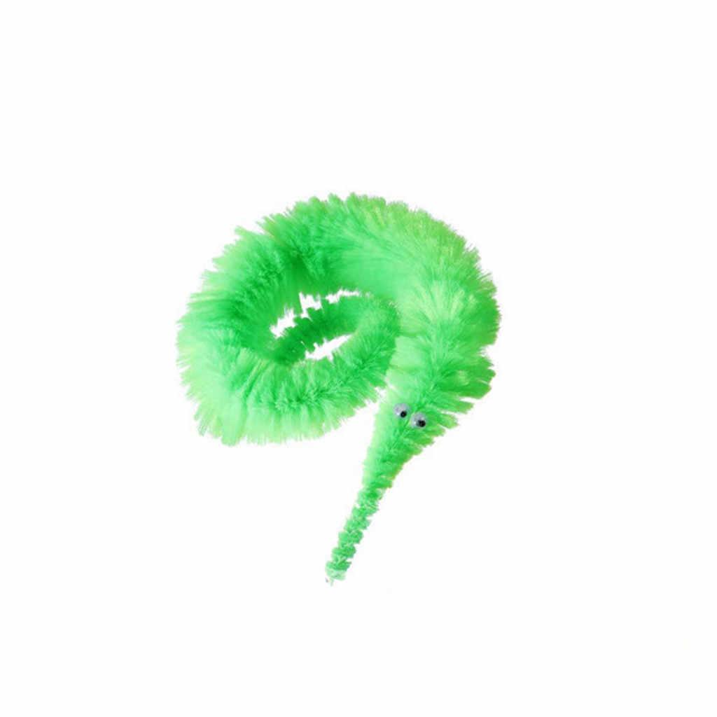 ของเล่นเด็ก Magic Worm ของเล่น Wiggly Twisty Fuzzy Carnival PARTY Favors สำหรับเด็กเด็กสาวเด็ก Xmas วันเกิดของขวัญ игрушки