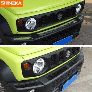 Image 4 - Shineka Aluminium Bumpers Bescherming Voor Suzuki Jimny Auto Voorbumper Versieringen Cover Panel Accessoires Voor Suzuki Jimny 2019 +