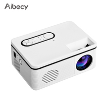 Movie Projector Home Theater Mini 1080P Built-In Video Speaker 600 Aibecy S361 Support